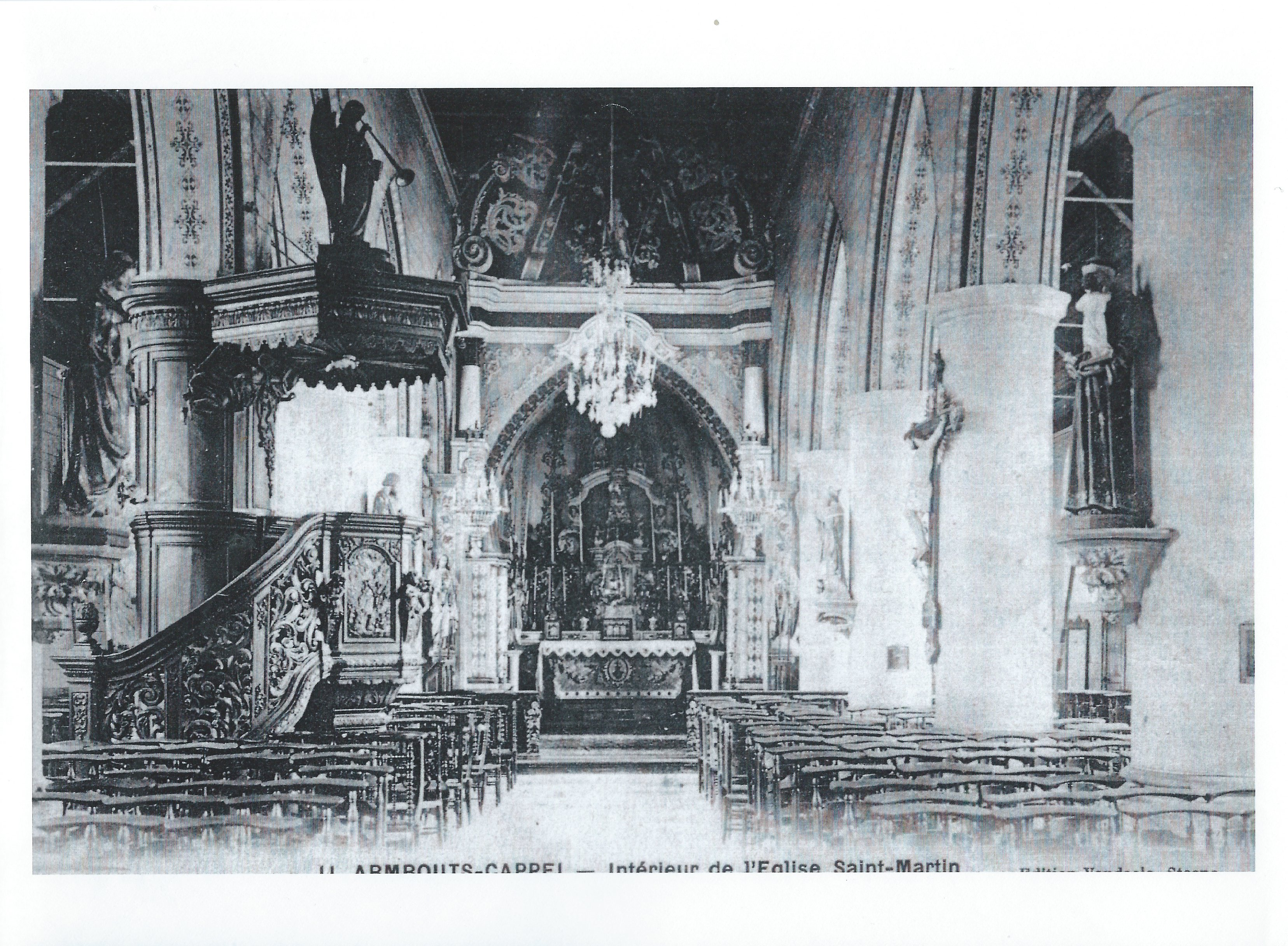 Ancienne église St Martin - intérieur