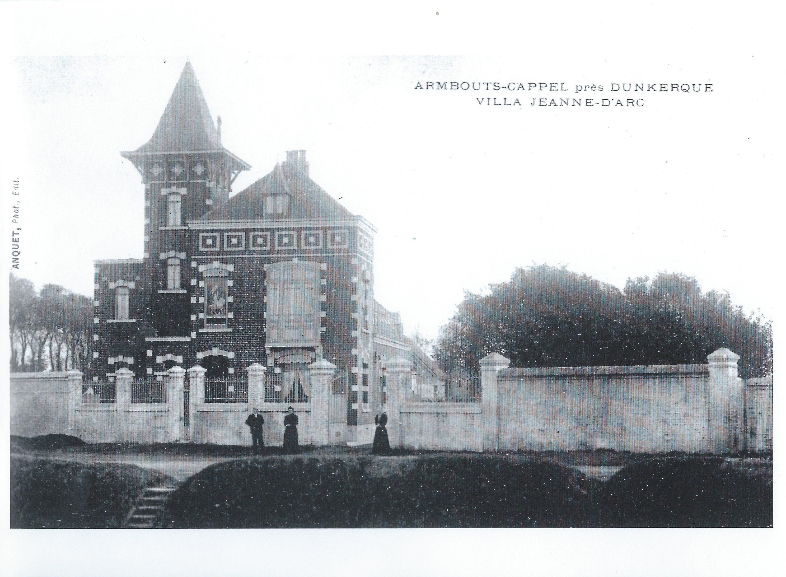 La Villa Jeanne d'Arc était située au Pont de Petite-Synthe